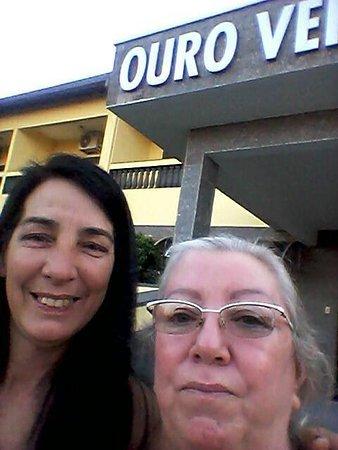 Martinopolis, SP: Fachada do hotel Ouro Verde em Martinópolis -SP