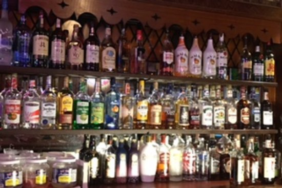 Shawano, WI: Just the right half of the bar...