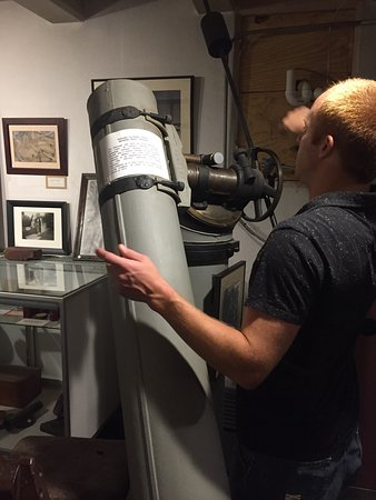 Springfield, VT: A treasure trove of astronomy, telescopes & fabulous historical artifacts in a most unexpected u