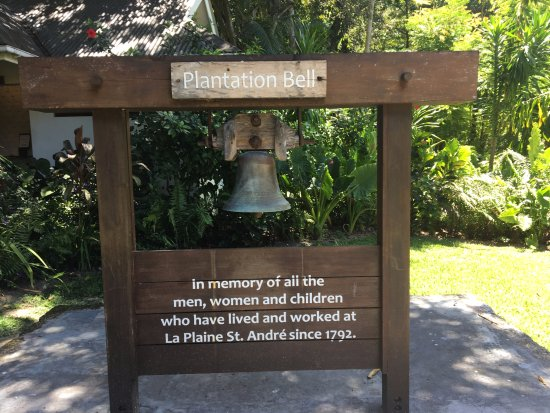 La Plaine St. Andre : Plantation Bell