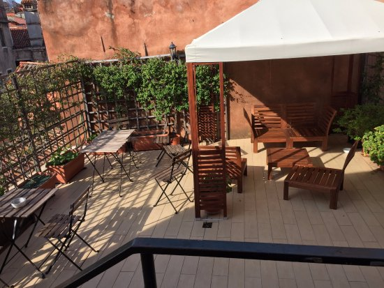 Hotel Castello: private terrace for hotel guests