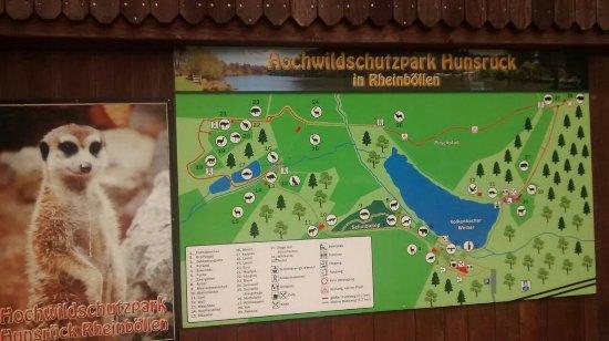 Rheinbollen, Allemagne : Eingangsbereich