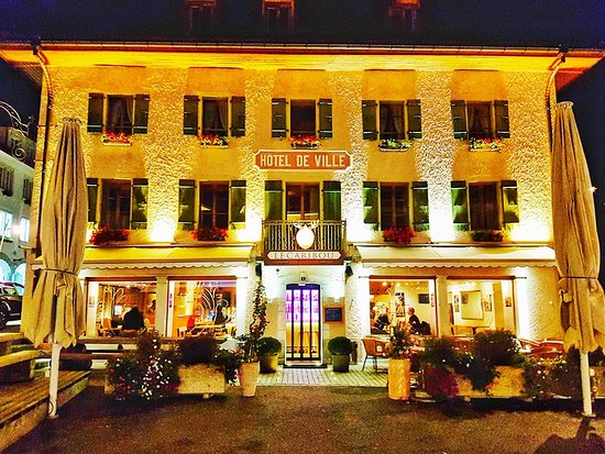 Chateau-d'Oex, Swiss: Hotel de Ville