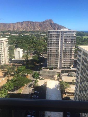 Hyatt Place Waikiki Beach: View from my balcony. 18th floor.
