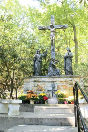 National Shrine Grotto of Lourdes: cross