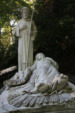 National Shrine Grotto of Lourdes: nativity