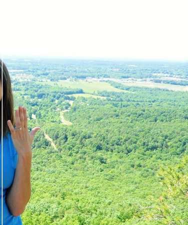 Crowders Mountain State Park: She became engaged on top of Crowders Mtn.