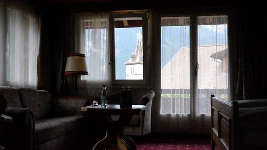 Hotel Gletschergarten: Room with a view