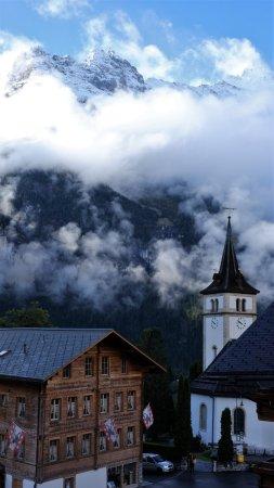 Hotel Gletschergarten: The view