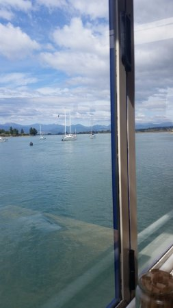 Mapua, New Zealand: view from the table