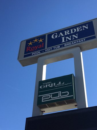 Such a nice sign Picture of Royal Garden Inn Salt Lake City