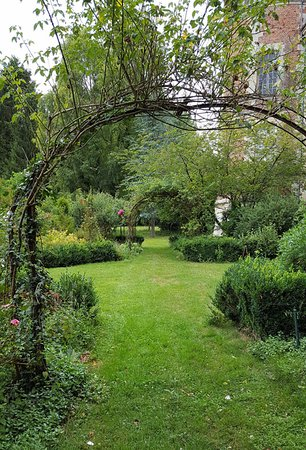 Rose arbor at Chateau de Fosseuse