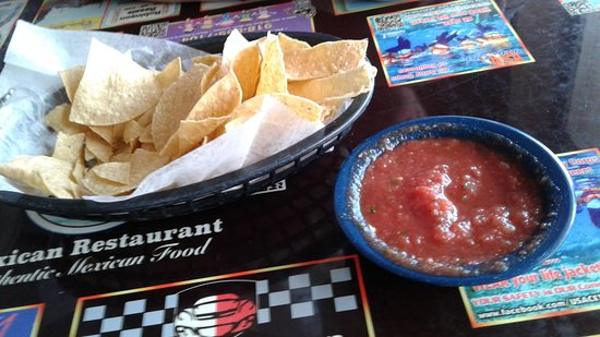 Mannford, โอคลาโฮมา: Excellent Chips & Salsa