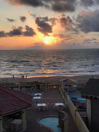 La Quinta Inn & Suites South Padre Island: from our balcony in the early morning