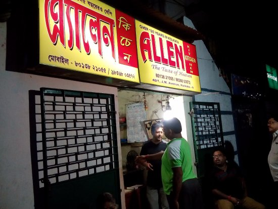 Old KOLKATA fast food joint. .. They dont serve rice roti or main course . fully non veg..