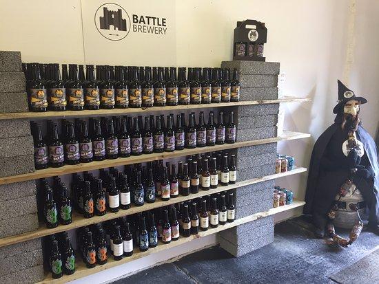 Battle, UK: Beer Selection