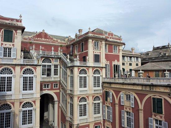 Museo di Palazzo Reale: vista dal terrazzo