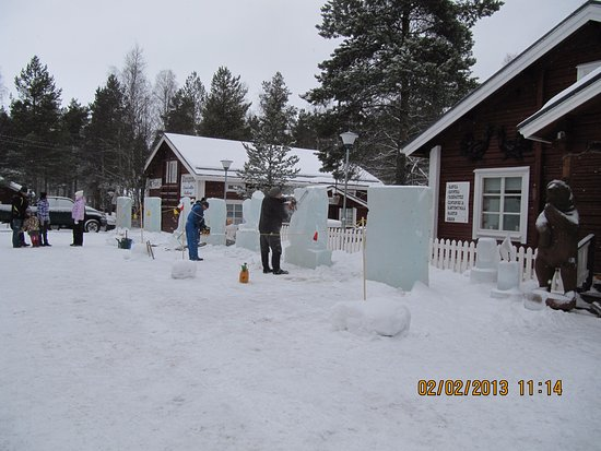 ‪‪Kalajoki‬, فنلندا: Every winter a competision in ice sculpturing‬