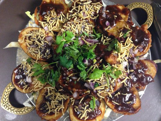 Fusion starter tangi eggplant picture of amans indian for Amans indian cuisine