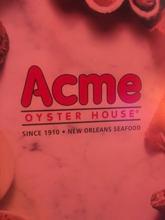 Acme Oyster House New Orleans 724 Iberville St Central