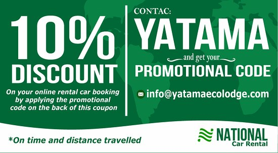 Horquetas, Costa Rica: Rent a car with Alamo or National and get a 10% discount by contacting Yatama