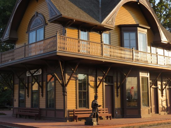 The Dayton Historic Depot is the oldest standing depot in the state of Washington.