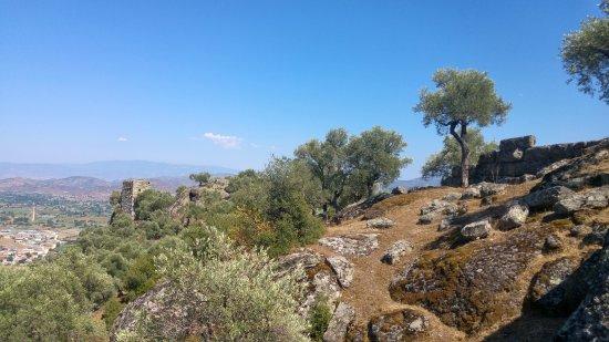 Alinda Ruins: Alinda'dan Karpuzlu ovası