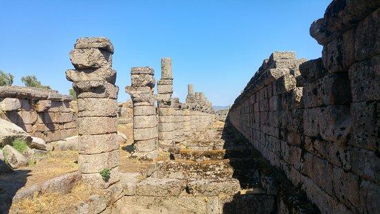 Alinda Ruins: Agora