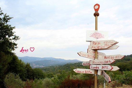 Bellosguardo, Italia: where are you going?