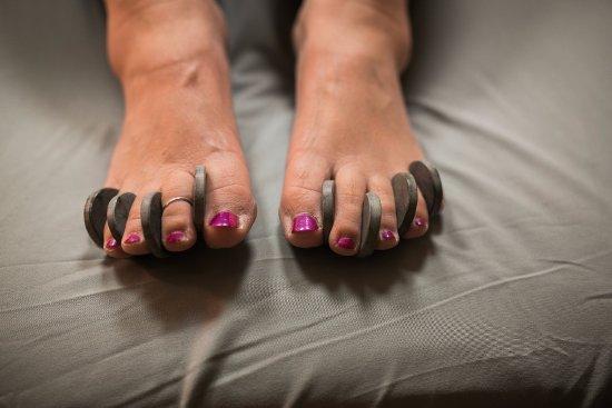 Beacon, NY: toe stones