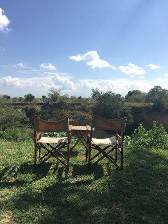 Tipilikwani Mara Camp - Masai Mara: View from dining area.