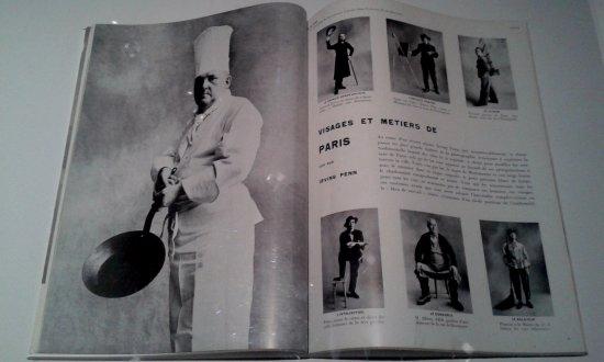 Grand Palais: Un article d'Irving Penn sur les petits métiers