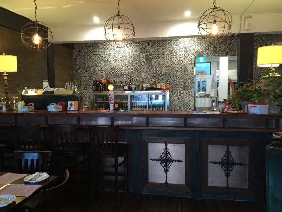 Pukekohe, Nueva Zelanda: Bar area