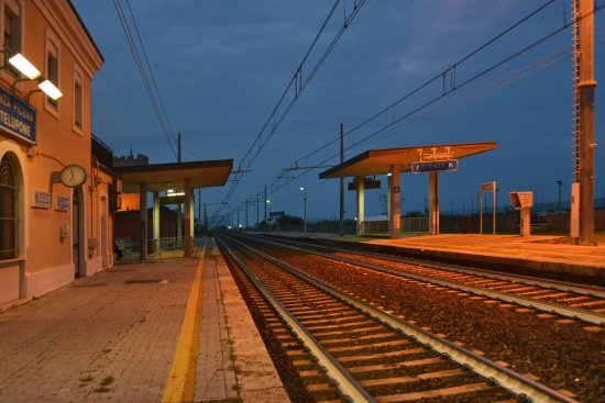Porto Potenza Picena, Italy: la stazione