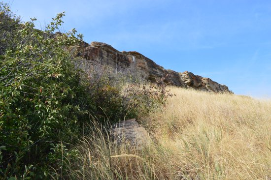 Fort Macleod, Canadá: The cliffs where the buffalo jumped.