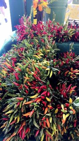 Davis, Καλιφόρνια: Farmer Market. Un tripudio di colori !