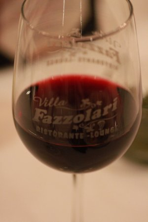 Buena, NJ: Wine in our very own printed glass.