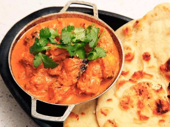 Butter Chicken With Naan Picture Of Jaipur Royal Indian Cuisine Fairfax Tripadvisor