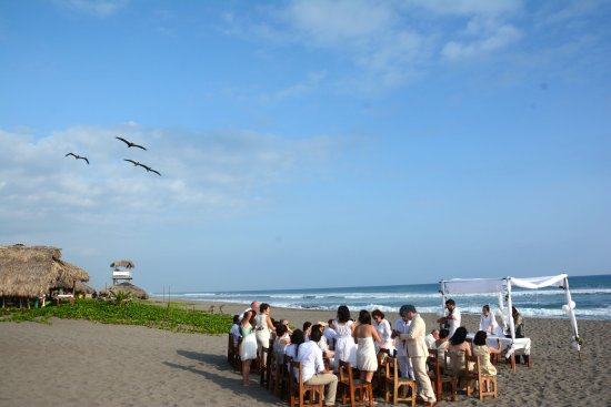 Tonala, Mexico: Boda civil en playa