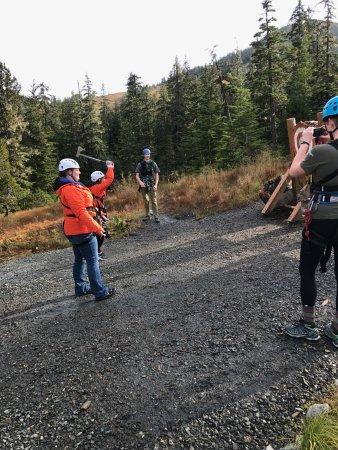 Bilde fra Alaska Zipline Adventures