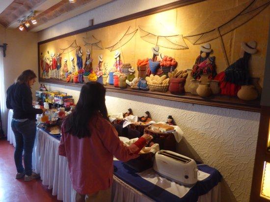 Hotel Rosario La Paz: Buffet Breakfast