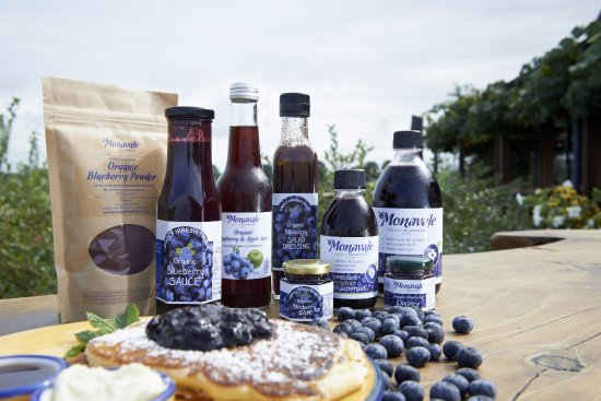Cafe Irresistiblue at Monavale Blueberries : Monavale Blueberries products from the Orchard Shop