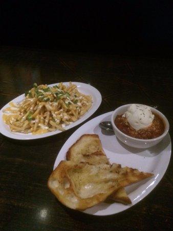 Vestal, NY: Philly fries and meatballs & ricotta