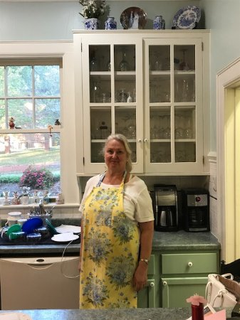 Lenoir, NC: Rose hard at work in the kitchen making a delicious breakfast