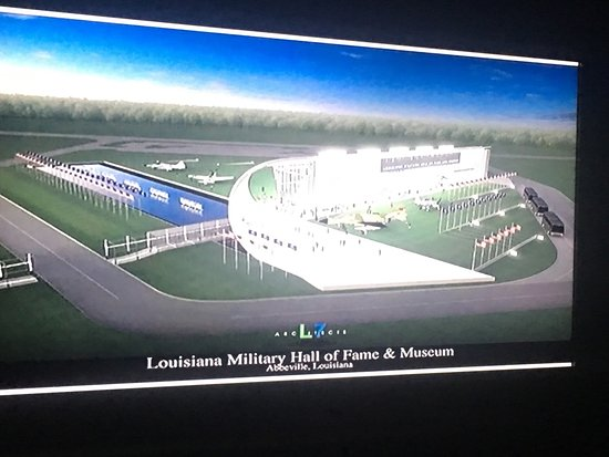 Abbeville, Λουιζιάνα: Louisiana Military Hall of Fame