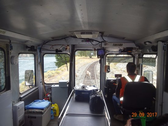Lillooet, Canadá: Shuttle takes you back in History