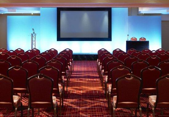 Manchester Airport Marriott Hotel : Cheshire Suite - Theatre Set Up