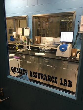 Waterbury, VT: High-tech lab equipment ensures your ice cream is delicious.