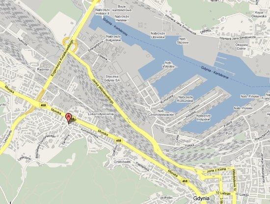 Gdynia Map