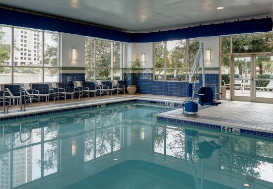 Dallas Marriott Las Colinas: Indoor Swimming Pool